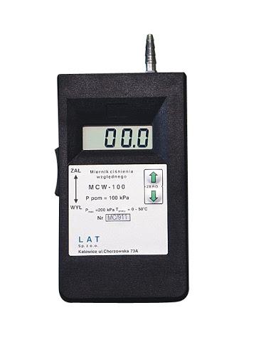 Elektroniczne mierniki ciśnienia względnego